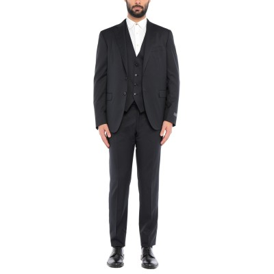 パル ジレリ PAL ZILERI スーツ ダークブルー 52 ウール 100% スーツ