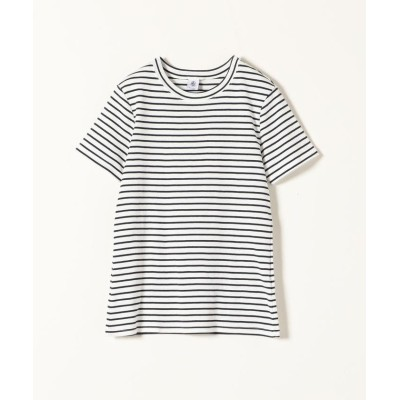 (SHIPS any WOMENS/シップス エニィ ウィメンズ)【別注】PETIT BATEAU:ボーダーTシャツ/レディース ネイビー