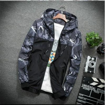 メンズジャケット リバーシブル 軽量 防風 アウターパーカー スポーツ トレーナー メンズファッション フード付き 特にハンサム メンズ カジュアル コート ゆったり 通気性