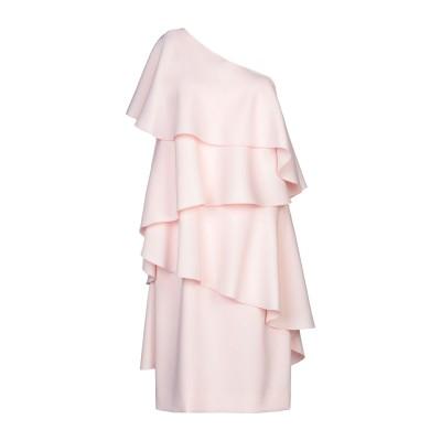 ランバン LANVIN ミニワンピース&ドレス ピンク 38 ポリエステル 100% ミニワンピース&ドレス
