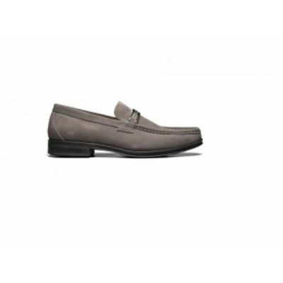 Stacy Adams ステーシーアダムス メンズ 男性用 シューズ 靴 ローファー Reginald Suede Slip-On Loafer Gray【送料無料】
