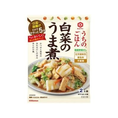 キッコーマン うちのごはん 白菜のうま煮 129g×10個セット /うちのごはん (毎)