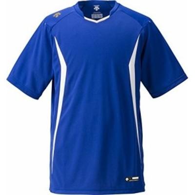 DESCENTE(デサント) 野球 ベースボールシャツ ロイヤルブルー×ホワイト Mサイズ DB120