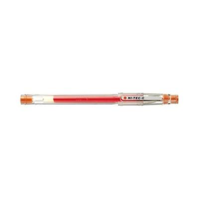 パイロット ボールペン ハイテックC04 ゲルインキ 0.4mm・キャップ式(オレンジ)