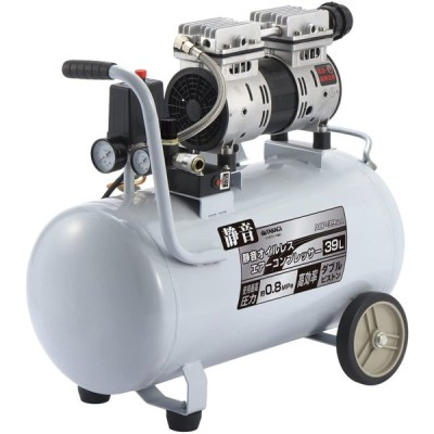 儀(Takagi) エアーコンプレッサー オイルレス EARTH MAN 静音タイプ 39L ACP-39SLA