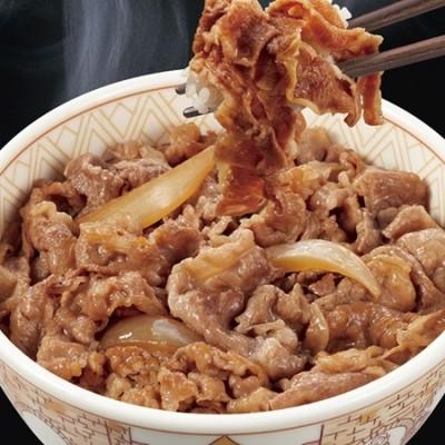 すき家 牛丼の具 8食