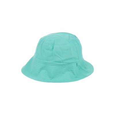 HATLEY 帽子 ライトグリーン 12 コットン 100% 帽子