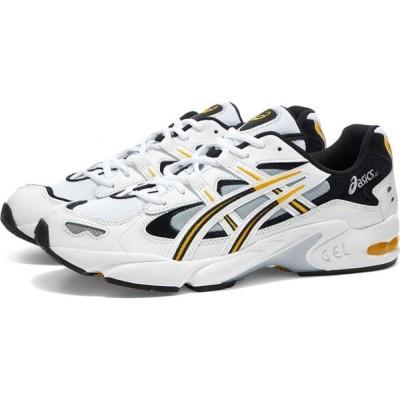 アシックス Asics メンズ スニーカー シューズ・靴 Gel Kayano 5 OG White/Saffron