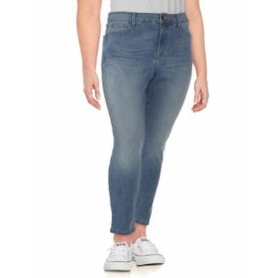 レディース パンツ デニム Plus Alina Convertible Ankle Jeans