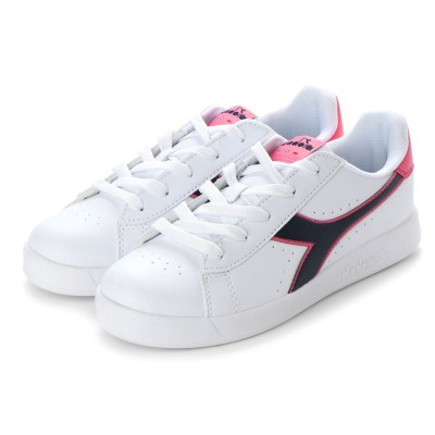 ディアドラ Diadora GAME P GS (WHITE/BLACK IRIS/PINK PASSION)