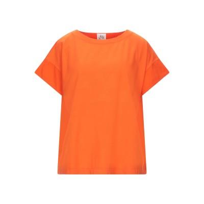 アティックアンドバーン ATTIC AND BARN T シャツ オレンジ XS コットン 100% T シャツ