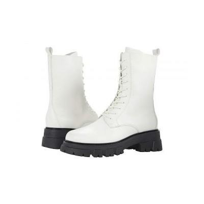 ASH アッシュ レディース 女性用 シューズ 靴 ブーツ レースアップ 編み上げ Liam - Off-White
