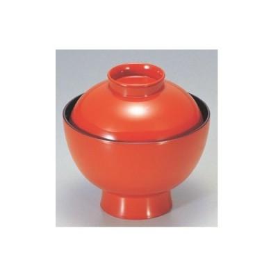 小吸椀 小丸椀朱 漆器 高さ70 直径:104/業務用/新品