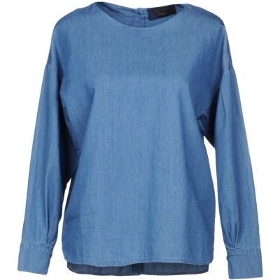 カオス KAOS デニムシャツ ブルー S コットン 100% デニムシャツ
