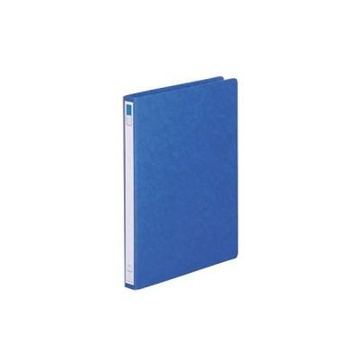 (まとめ) リヒトラブ リングファイル・ディンプル(ツイストリング) A4タテ 2穴 150枚収容 背幅27mm 藍 F-847UN-5 1冊 〔×30セット〕