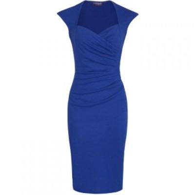 ホットスカッシュ HotSquash レディース ワンピース ラグラン ワンピース・ドレス Raglan Short Sleeved Dress Royal Blue
