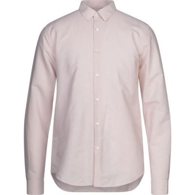 セオリー THEORY メンズ シャツ トップス linen shirt Light pink