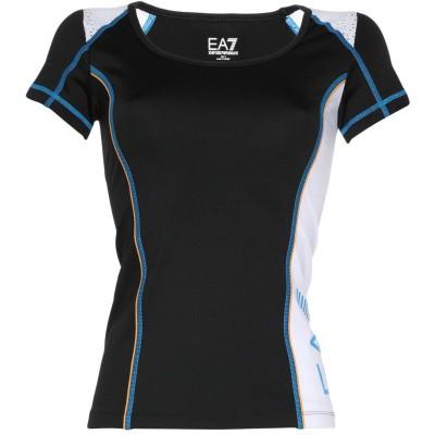 EA7 T シャツ ブラック XS ポリエステル 92% / ポリウレタン 8% / ナイロン T シャツ