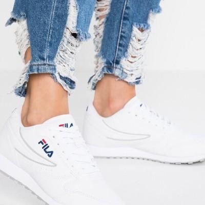 フィラ レディース 靴 シューズ ORBIT - Trainers - white