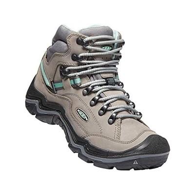 KEEN womens Durand 2 Mid Waterproof Hiking Boot, Grey Flannel/Steel Grey, 6