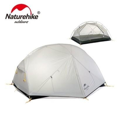テント 2 人 ナイロン 二重層 防水 3 シーズン キャンプテント 20D NH17T007-M