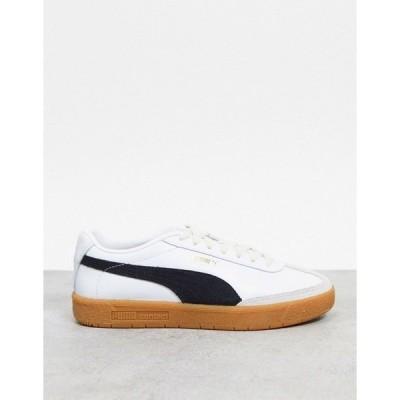 プーマ レディース スニーカー シューズ Puma Oslo City OG sneakers in white and black White