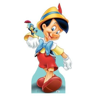 ピノキオ & ジミニー 映画館 パネル ディズニー インテリア グッズ 店舗 飾り