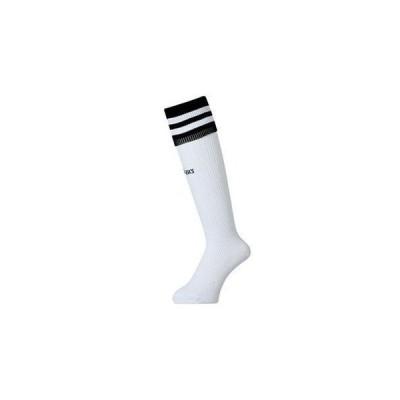 アシックス asics ジュニア ストッキング XSS081 0190 ホワイト/ブラック 20cm