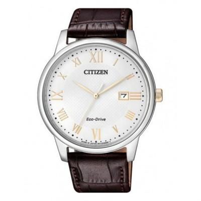 シチズン メンズ Eco-Drive エコドライブ ソーラー ダークブラウン レザー BM6974-19A あすつく 腕時計