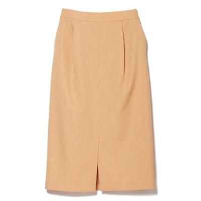 【クリアインプレッション】 リネンライクタイトスカート レディース オレンジ1 02 CLEAR IMPRESSION