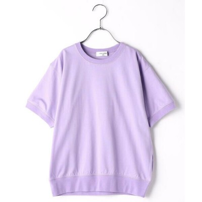 COMME CA FILLE/コムサ・フィユ 〔140cm〜〕3本針Tシャツ ラベンダー 150〜160cm