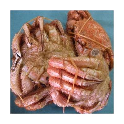 【新鮮浜茹で】訳あり朝茹で毛がに 約1kg詰 (2-4尾入)