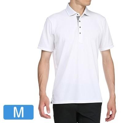 ハイドロ銀チタン 半袖シャツ(シャツ襟) メンズ ホワイト M 52MA902001_whM
