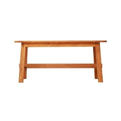 3244(ミツヨシ) ダイニングベンチ 二人掛け 天然木 木製 無垢 オーク MTS-090