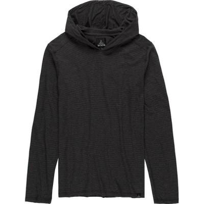 プラーナ ニット&セーター メンズ アウター Prana Long-Sleeve Hoodie - Men's Black Stripe