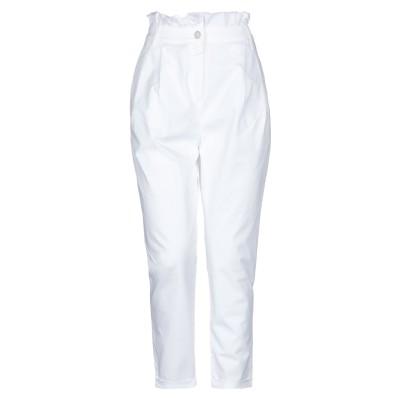 TWENTY EASY by KAOS パンツ ホワイト 27 コットン 98% / ポリウレタン 2% パンツ