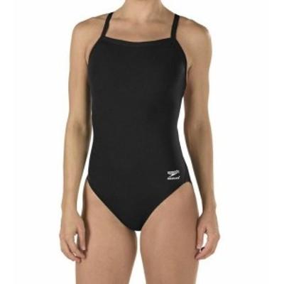 speedo スピード スポーツ用品 スイミング Speedo Black Womens Size 6 /32 One-Piece Flyback Training Swimwear