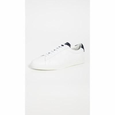 ゼスパ Zespa メンズ スニーカー ローカット シューズ・靴 ZSP4 Low Top Sneakers White/Navy