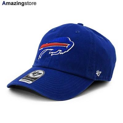 47ブランド バッファロー ビルズ 【NFL CLEAN UP STRAPBACK CAP/RYL BLUE】 47BRAND BUFFALO BILLS