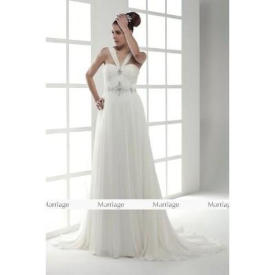 a95100 ウェディングドレス  ウエディングドレス マタニティー対応