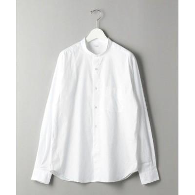 BEAUTY&YOUTH UNITED ARROWS/ビューティ&ユース ユナイテッドアローズ BY 70/2 ブロード バンドカラー シャツ WHITE XS