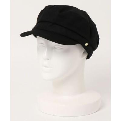 帽子 キャスケット ベルト付きマリンキャスケット