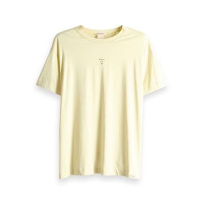 スコッチアンドソーダ Tシャツ メンズ 正規販売店 SCOTCH&SODA 半袖Tシャツ クルーネックTシャツ ORGANIC COTTON CREWNECK JERSEY TEE 148995 2754
