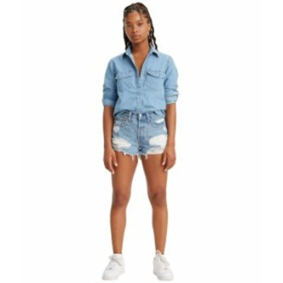 リーバイス レディース ハーフパンツ・ショーツ ボトムス Premium 501 High-Rise Shorts Luxor Anubis