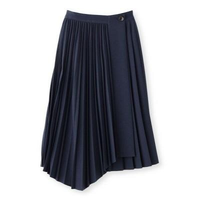 CAST:/キャスト コロン プリーツスカート ネイビー S