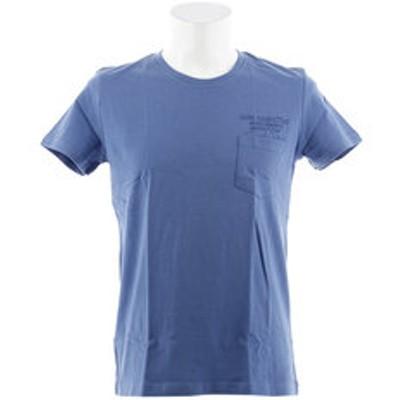 Tシャツ メンズ ポケットプリント 半袖 LOWER 871Q8CD2039BLU