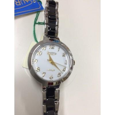 【中古】AULEOLE オレオール レディース腕時計 クォーツ SS SW-599L-04[jggW]