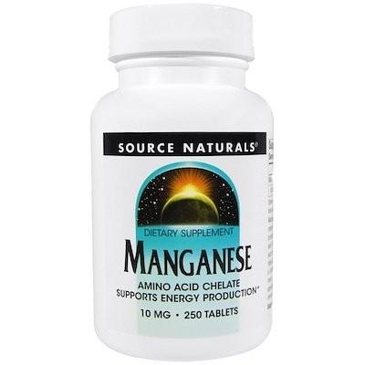 マンガン, 10 mg, 250錠