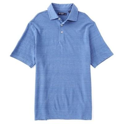 ダニエル クレミュ メンズ シャツ トップス Space Dye Short-Sleeve Polo Shirt
