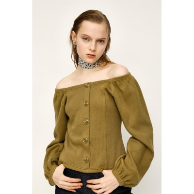 FRONT BUTTON PUFF SLEEVE TOPS